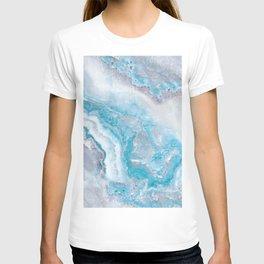 Ocean Foam Mermaid Marble T-shirt