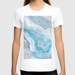 Ocean Foam Mermaid Marble T-shirt
