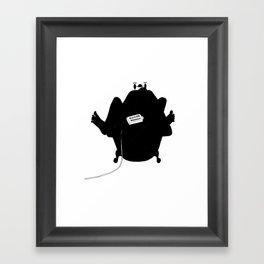 toasty Framed Art Print
