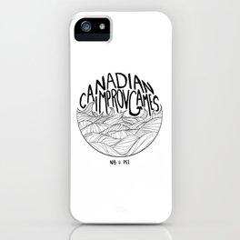 Canadian Improv Games: NB&PEI - Wave Logo iPhone Case