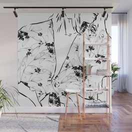 Fashionista || #illustration #fashion Wall Mural