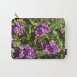 Notch-Leaved Phacelia - Desert Wildflower Carry-All Pouch