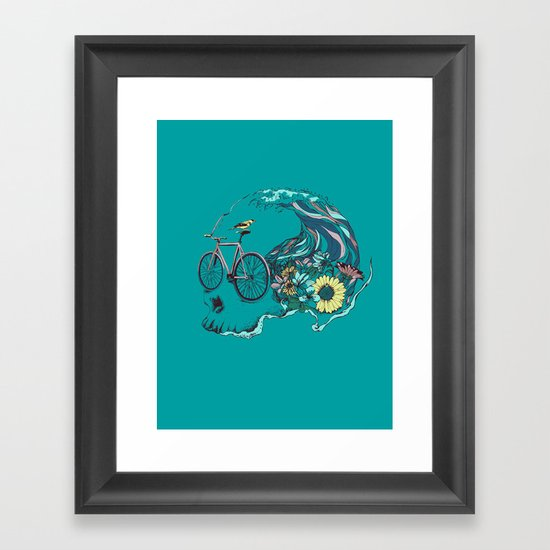 RIDE Framed Art Print