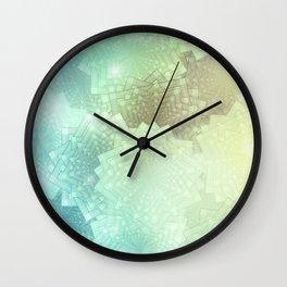 Sea Blossoms Wall Clock