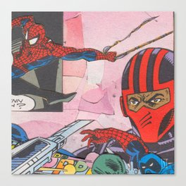"Marvelous Pages ""Midnight Saga"" 7 Canvas Print"