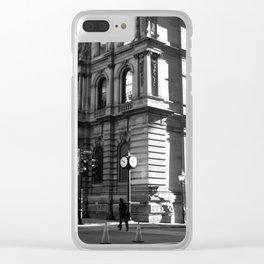 vieux port de montréal Clear iPhone Case