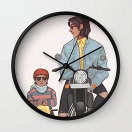 Sirius and harry motorcycle Wall Clock