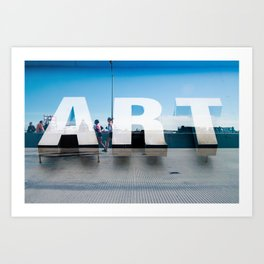 Running Art Art Print
