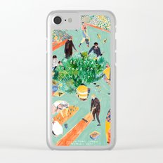 Compost Awareness Week Clear iPhone Case