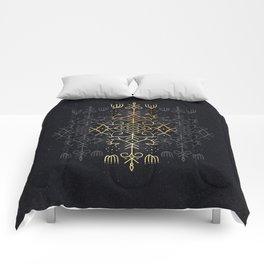 Golden Echo Comforters