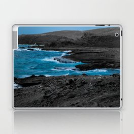 Black & Blue Shoreline Laptop & iPad Skin