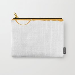 Ollivanders Logo in Yellow Carry-All Pouch
