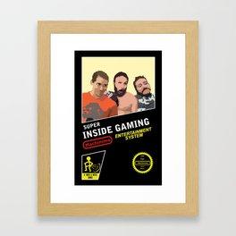 8 Bit Inside Gaming Framed Art Print