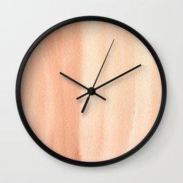 151208 2.Burnt Sienna Wall Clock