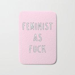 Feminist As Fuck - Girl Gang Prints Bath Mat