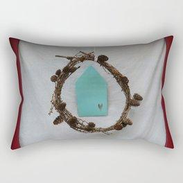 Crown of branches Rectangular Pillow