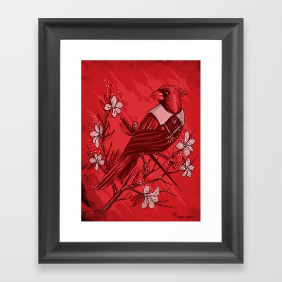 A Plot To Destroy The King Framed Art Print