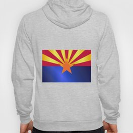 Arizona State Flag Gloss Hoody