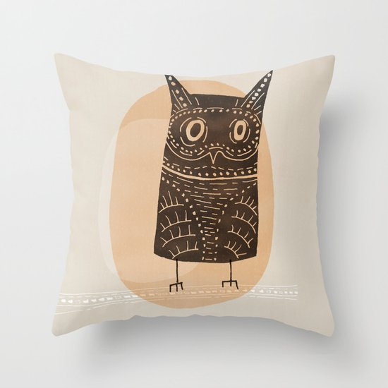 This is my owl Throw Pillow