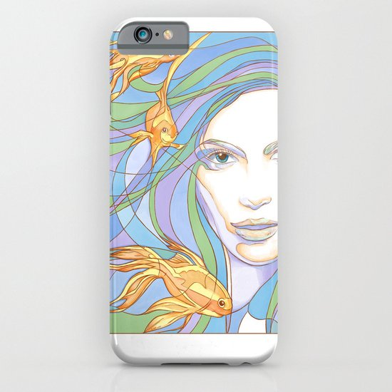 Mermaids are Dreaming iPhone & iPod Case