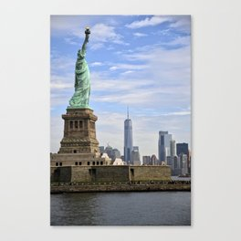 Lady of Freedom Canvas Print