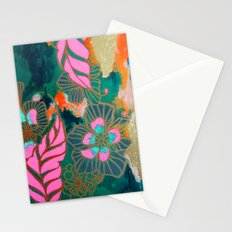 Midnight Pink Stationery Cards