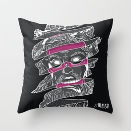 No god in my history Throw Pillow