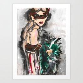 Marco Girl Art Print