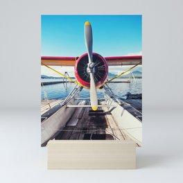 Alaskan Float Plane Mini Art Print