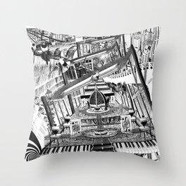 A VECES CUALQUIER COSA ES CUALQUIER COSA Throw Pillow