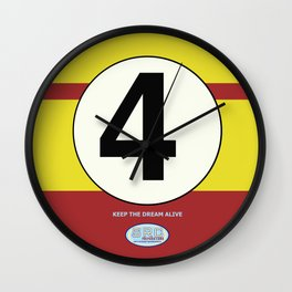 SRC Preparations. Racecar Rebels. 4 Wall Clock