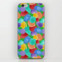 Blobs Pattern iPhone Skin