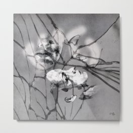 Silent and Distant Metal Print