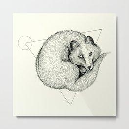 'Wildlife Analysis V' Metal Print