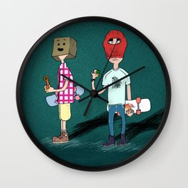 Politically incorrect Wall Clock