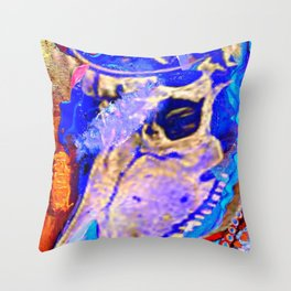 I Once Was a Unicorn. Throw Pillow