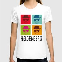 popart T-shirts featuring Heisenberg Popart by Nxolab