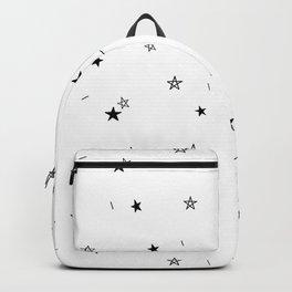 Star Doodle Pattern Backpack