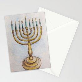Hanukkiah MM180920a Stationery Cards