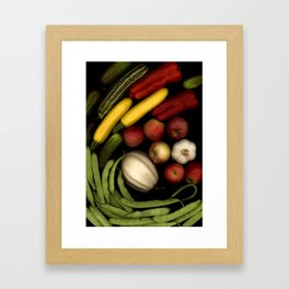Summer Mix Framed Art Print