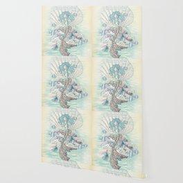 Anais Nin Mermaid [vintage inspired] Art Print Wallpaper