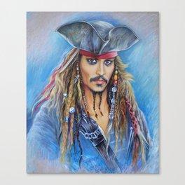 capt jack Canvas Print