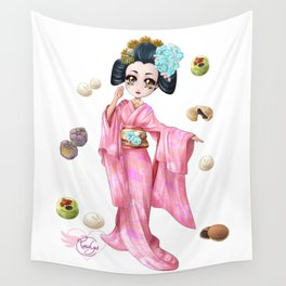 Wagashi pure Wall Tapestry