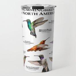 Hummingbirds of North America Travel Mug