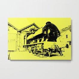 Yellow Victor Metal Print