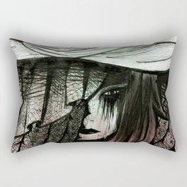 Daughter's Funeral Veil Rectangular Pillow