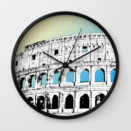 The Colosseum II Wall Clock