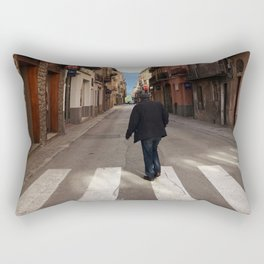 Taking A Walk Rectangular Pillow