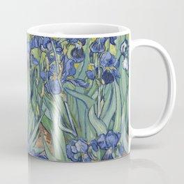 'Irises' by Van Gogh Coffee Mug