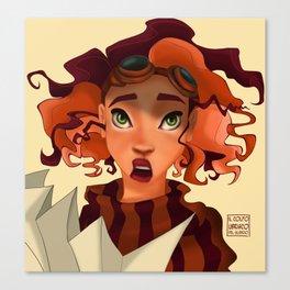 Wah! Canvas Print